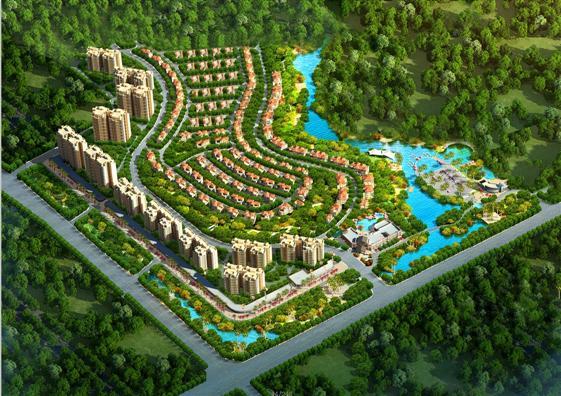 碧桂园凤凰城首期规划图