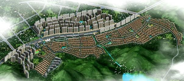 韶关碧桂园·太阳城,尊踞韶关芙蓉新城核心,背靠芙蓉山国家森林