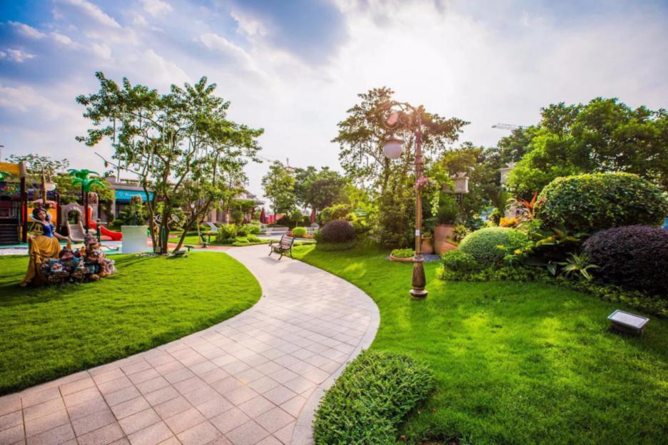 紫金碧桂园的园林景观秉承着碧桂园细致的匠心精神,由旗下专业园林图片