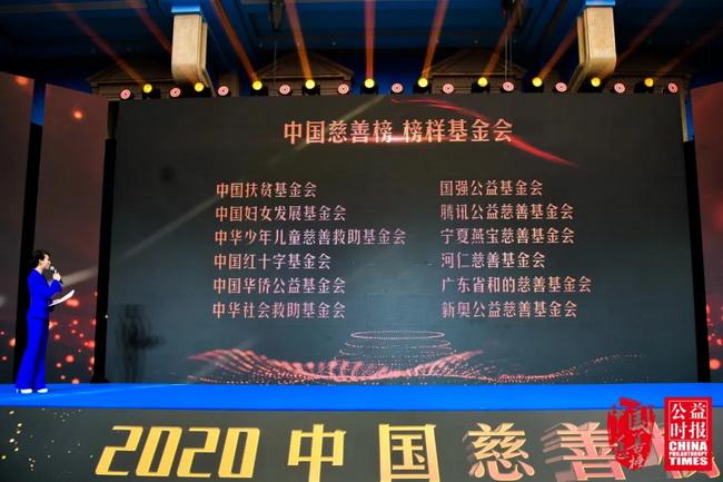 """碧桂园荣登2020中国慈善榜""""慈善企业榜""""榜首!"""